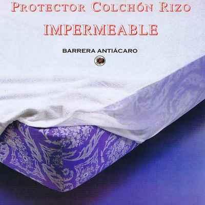 PROTECTOR COLCHÓN RIZO
